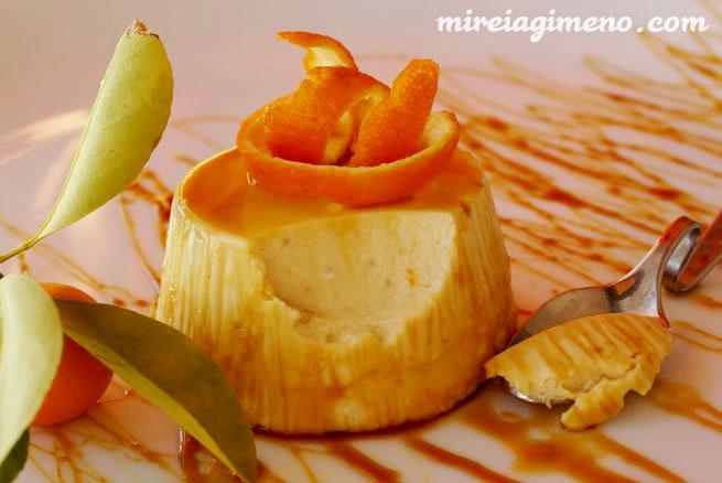 Mousse de mandarina receta vegana - Postre con mandarinas ...